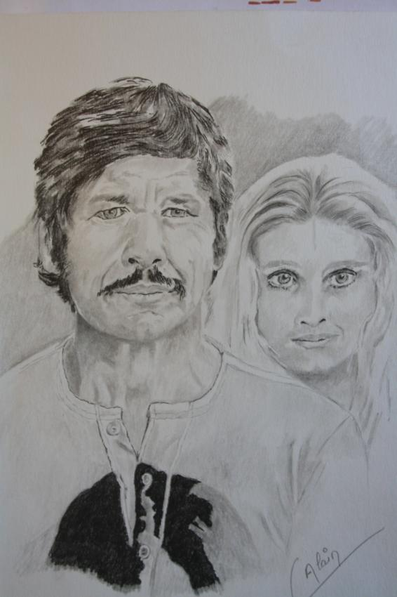 Charles Bronson by lharmonica1